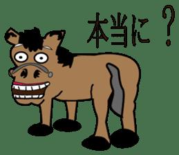 a Horse sticker #12944951
