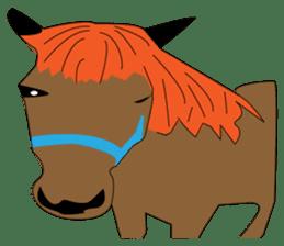 a Horse sticker #12944963