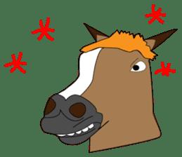 a Horse sticker #12944966