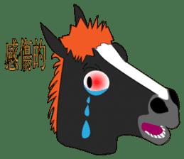 a Horse sticker #12944975