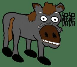 a Horse sticker #12944978