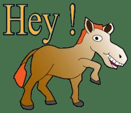 a Horse sticker #12944979