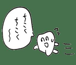 teeth comic - HanoManga sticker #12947070