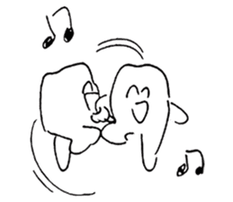 teeth comic - HanoManga sticker #12947077