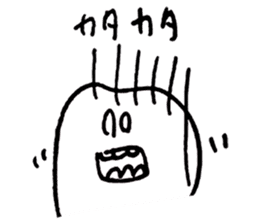 teeth comic - HanoManga sticker #12947079