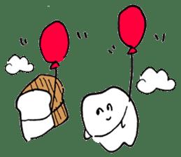 teeth comic - HanoManga sticker #12947081