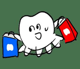 teeth comic - HanoManga sticker #12947083
