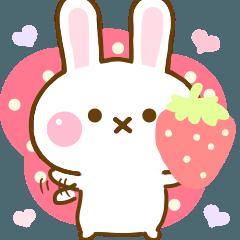 Rabbit Strawberry Yokutukau 2