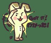 Teddy Bunny sticker #12951085