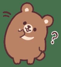 moon bear cub sticker #12963801