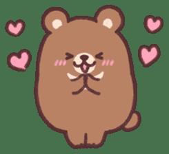 moon bear cub sticker #12963804