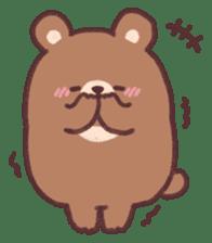 moon bear cub sticker #12963805
