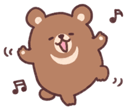 moon bear cub sticker #12963807