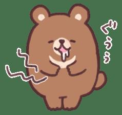 moon bear cub sticker #12963809