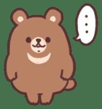 moon bear cub sticker #12963813