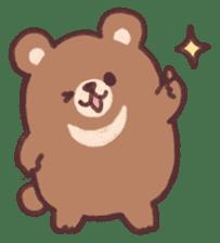 moon bear cub sticker #12963815