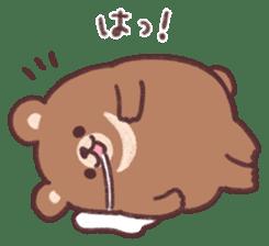 moon bear cub sticker #12963819