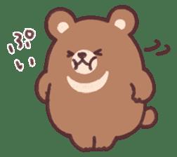 moon bear cub sticker #12963820
