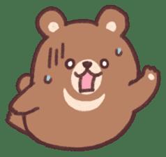 moon bear cub sticker #12963823