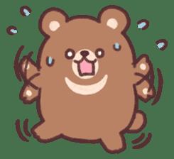 moon bear cub sticker #12963824
