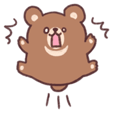 moon bear cub sticker #12963825