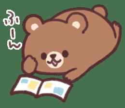 moon bear cub sticker #12963831