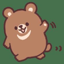 moon bear cub sticker #12963833