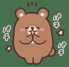 moon bear cub sticker #12963834