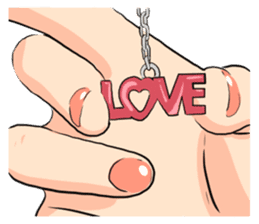 The Signs of Love 5 sticker #12965646