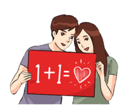 The Signs of Love 5 sticker #12965672