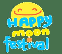 Happy Moon Festival & Happy Mood sticker #12966561