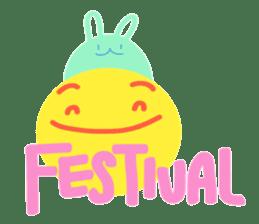 Happy Moon Festival & Happy Mood sticker #12966568