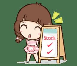 Cute little Merchant fashion shop. + sticker #12982936