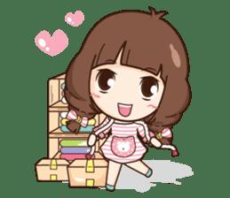 Cute little Merchant fashion shop. + sticker #12982942