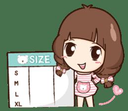 Cute little Merchant fashion shop. + sticker #12982944