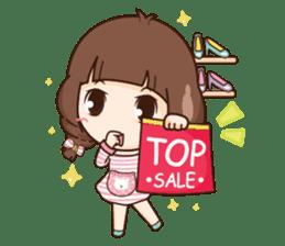 Cute little Merchant fashion shop. + sticker #12982956