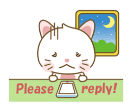 Kawaii Cathy sticker #12986709