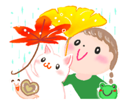 *--Have a Nice Autumn--* sticker #12986862