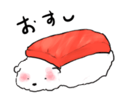 samoyed sticker #12987984