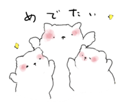 samoyed sticker #12987988