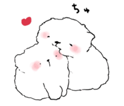samoyed sticker #12987998