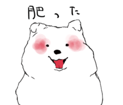 samoyed sticker #12988000