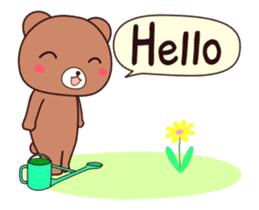 Bear 2 (English and Animation) sticker #12991951