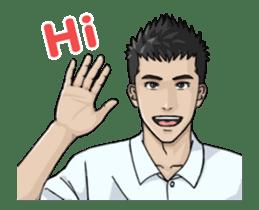 Handsome Men - Animated Stickers sticker #12992118