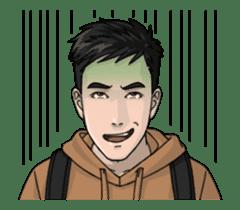 Handsome Men - Animated Stickers sticker #12992120