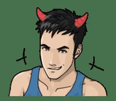 Handsome Men - Animated Stickers sticker #12992131