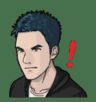 Handsome Men - Animated Stickers sticker #12992139