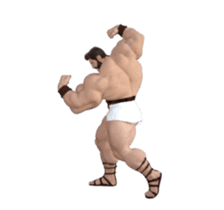HERCULES The Ultimate Muscle Man 3D sticker #12992344