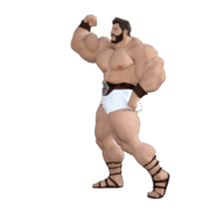 HERCULES The Ultimate Muscle Man 3D sticker #12992346