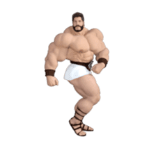 HERCULES The Ultimate Muscle Man 3D sticker #12992348